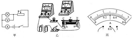 """如图甲所示是""""测量小灯泡的电功率""""的电路图"""